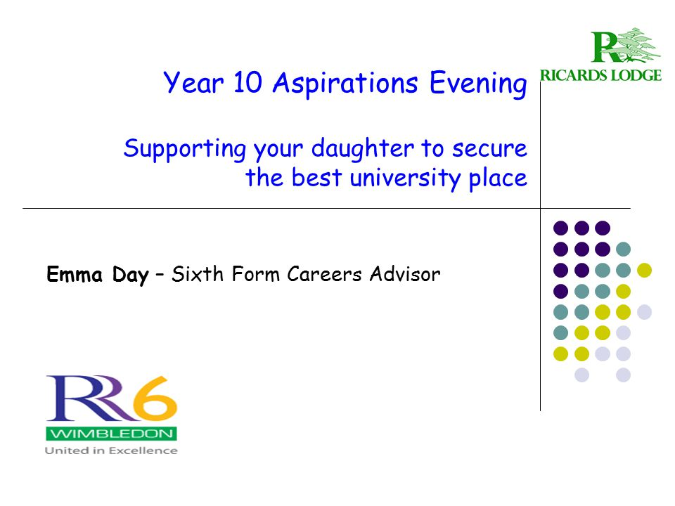 Emma Day – Sixth Form Careers Advisor