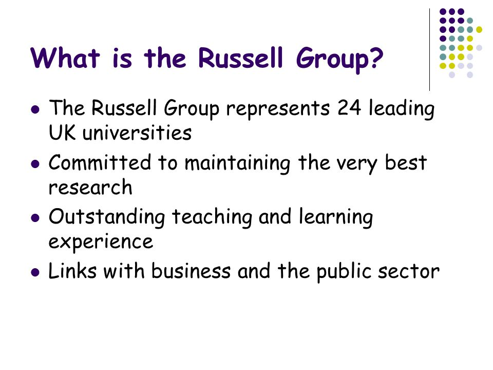 What is the Russell Group