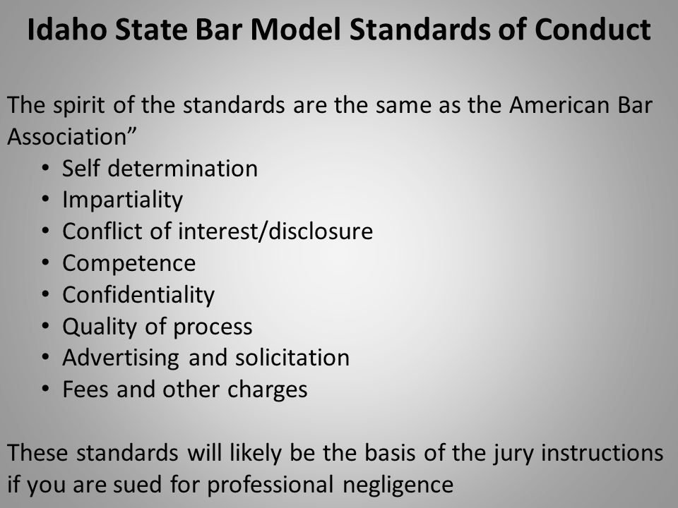 florida bar association rules of professional Complaint against a florida uniform standards of professional by the rules regulating the florida bar these rules of the supreme court of florida.