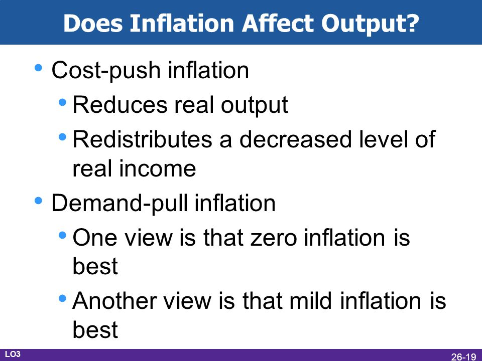 Does Inflation Affect Output