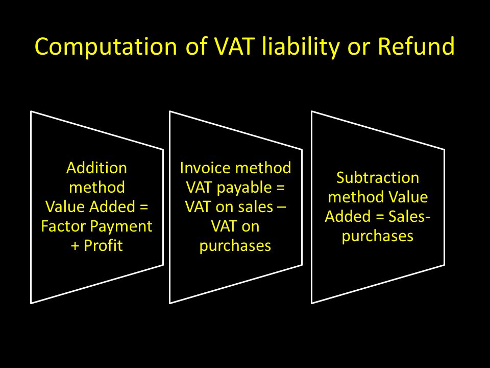 Value added tax presented by anand sham chandak ppt for Factor invoices explained