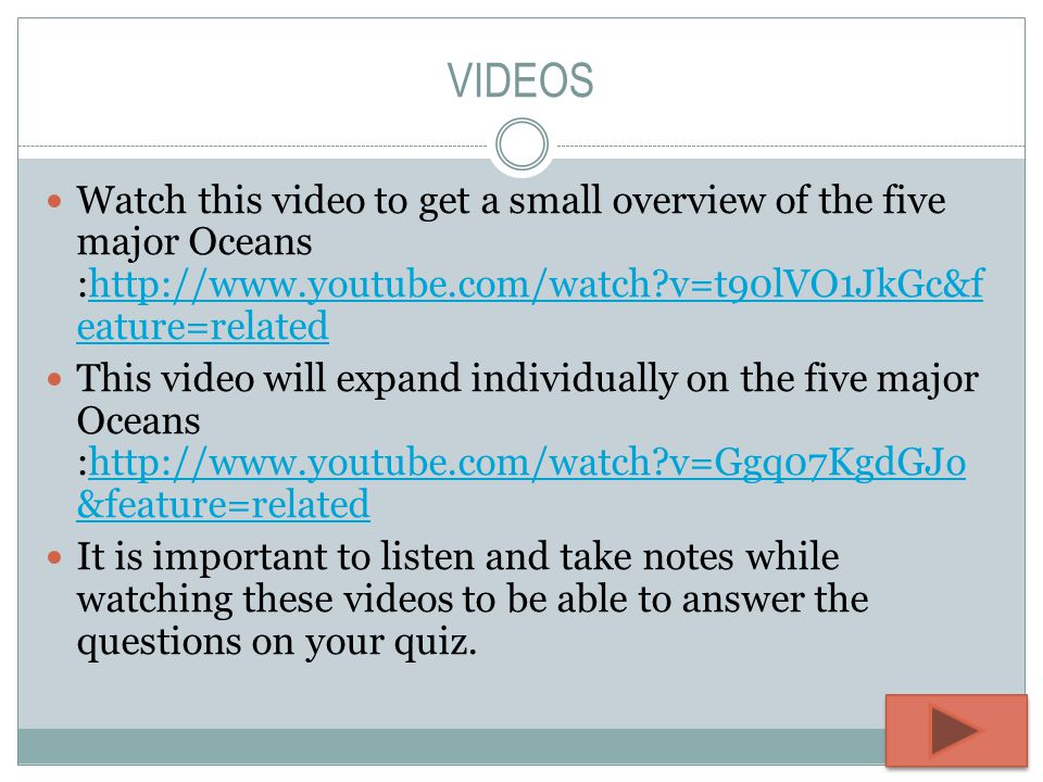 The Five Oceans Whitley Gurkin Ppt Video Online Download - The five major oceans
