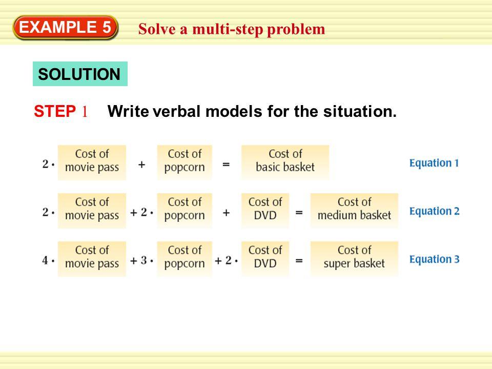 how to solve matrix problems