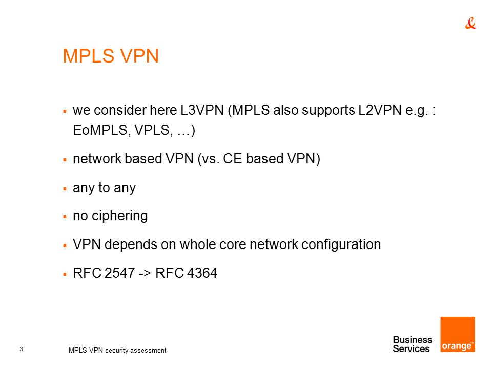 Security of the MPLS Architecture MPLS - Cisco Systems