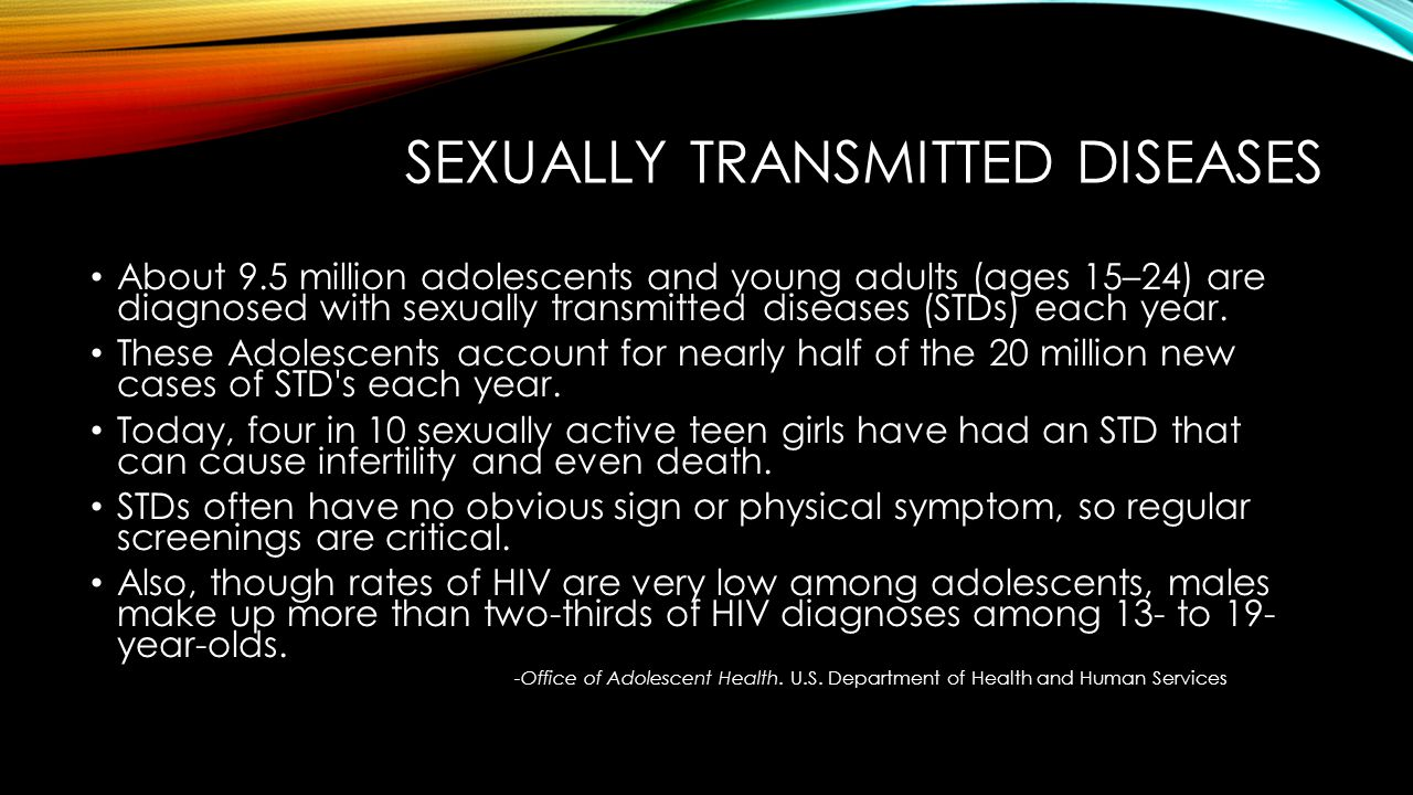 What Is The Rate Of Death To Teens From Stds? - The