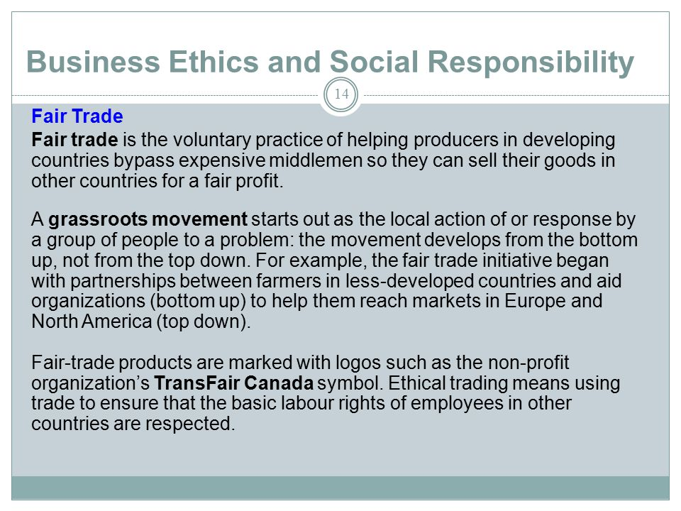 responsibilities of businesses in industrialized nations The role of small and large businesses in economic development by kelly edmiston i ncreasingly, economic development experts are abandoning traditional.