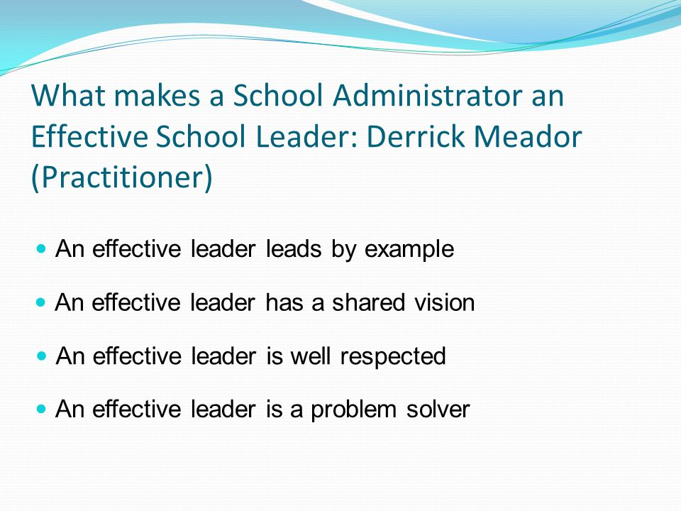 what makes school effective What defines a good school by david gamberg  i have also had the good fortune to be in the company of thousands of children and their families  march 30, 2016, as what makes a school.