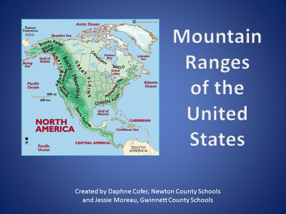 Mountain Ranges Of The United States Ppt Video Online Download - Mountain ranges of the united states