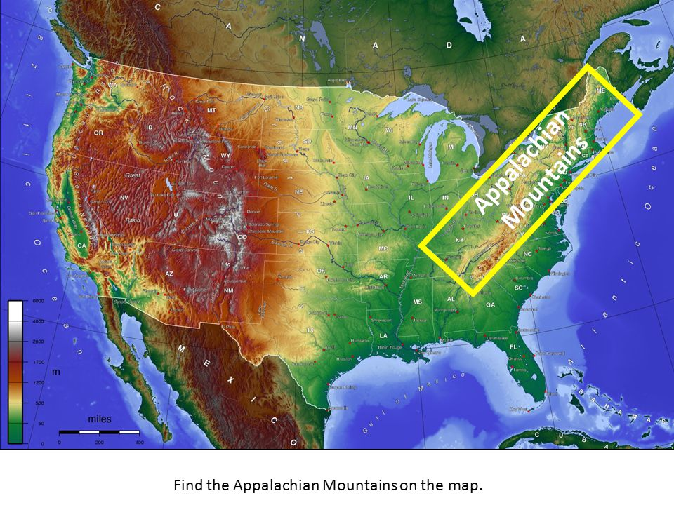 an analysis of the united states topography Information about the usgs mineral deposit database minute topographic quadrangle maps of the united united states derived from automated analysis.