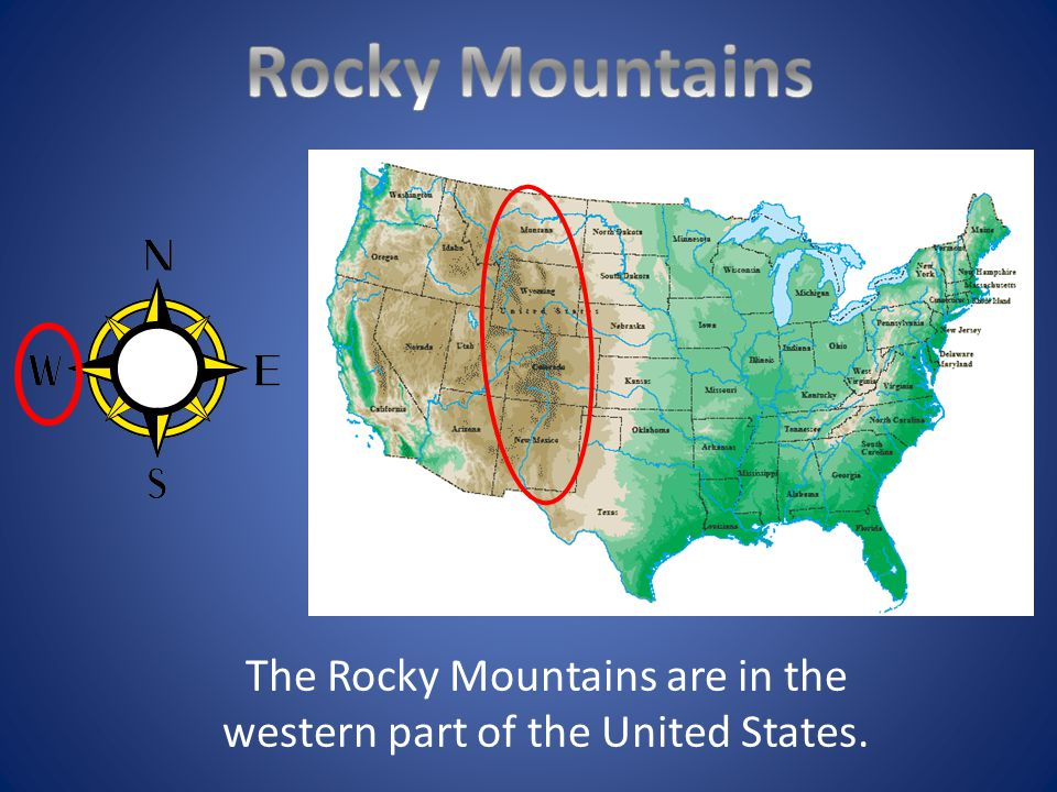 Mountain Ranges Of The United States Ppt Video Online Download - United states mountains