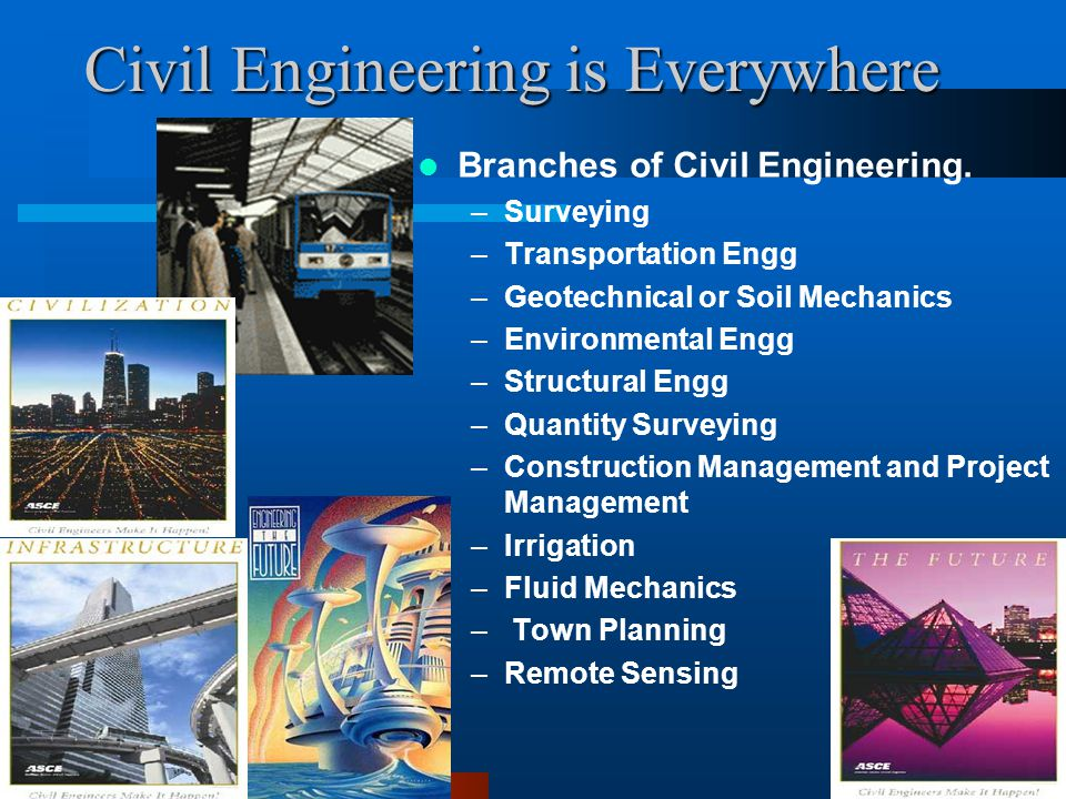 Civil Engineering Is Everywhere Ppt Download
