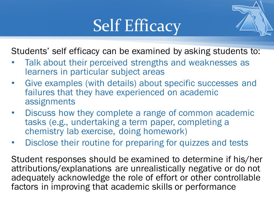 self efficacy and its role in the Of those gaps, and explore the role of entrepreneurial self-efficacy during the   self-efficacy in entrepreneurship to propose a definition of entrepreneurial.