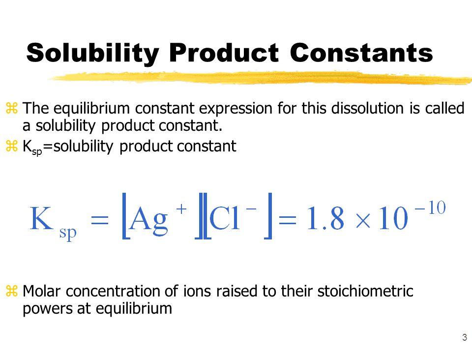 solubility product constants Solubility product constants k sp at 25°c the solid phases of aqion are listed here in two tables (together with the solubility product in form of pk sp = - log 10 k sp.