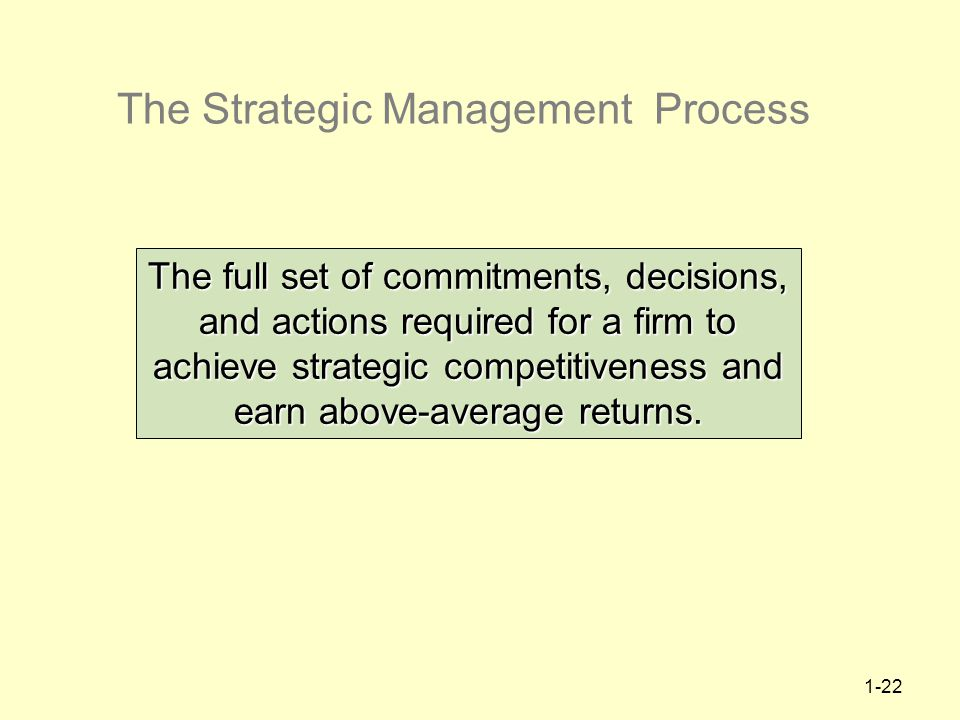 Strategic management is the dynamic process of formulation marketing essay