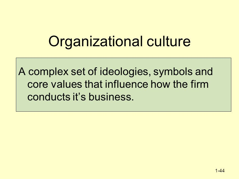 organisational culture and strategic management pdf