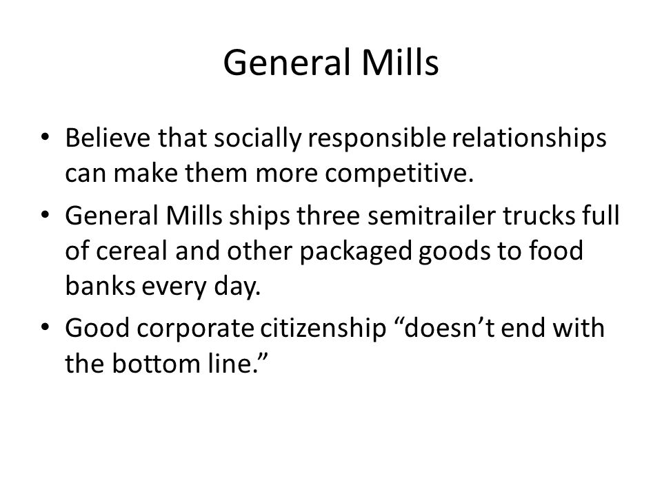 Management and Leadership of General Mills Essay