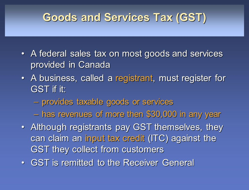 goods and service tax But while merchants could previously claim a tax exemption, under the new  goods and services tax (gst) they must pay the levy in full and.