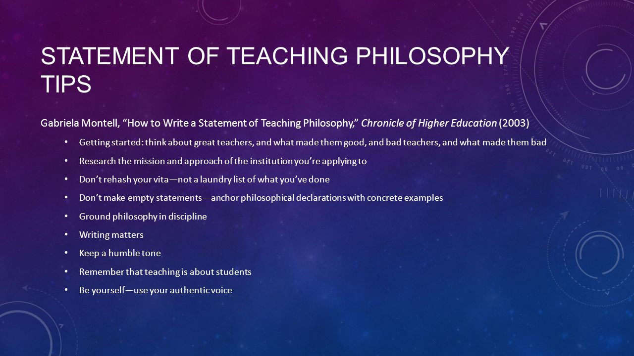 How to Write a Philosophy of Teaching Statement—Tips, Template, and Samples