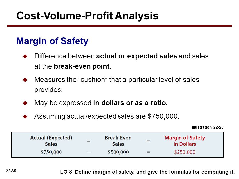 cost volume and profit analysis Video created by university of virginia for the course managerial accounting fundamentals now that we've learned the fundamentals of cost behavior, we're ready to move on to discussing the relationships between cost structure, volume, price,.