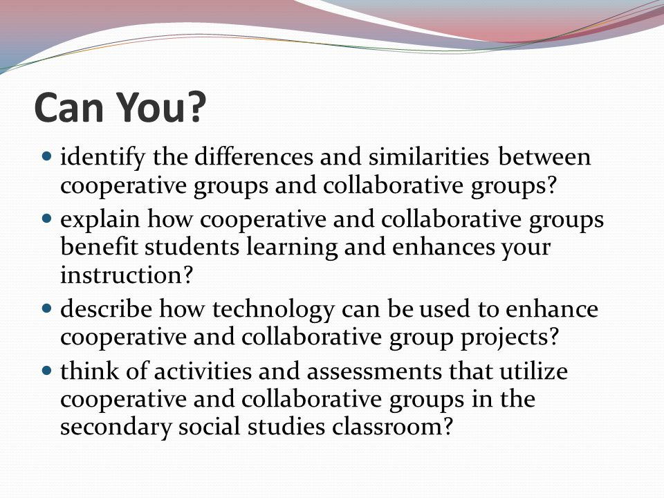 Collaborative Assessment In The Classroom ~ Cooperative learning in social studies ppt video online