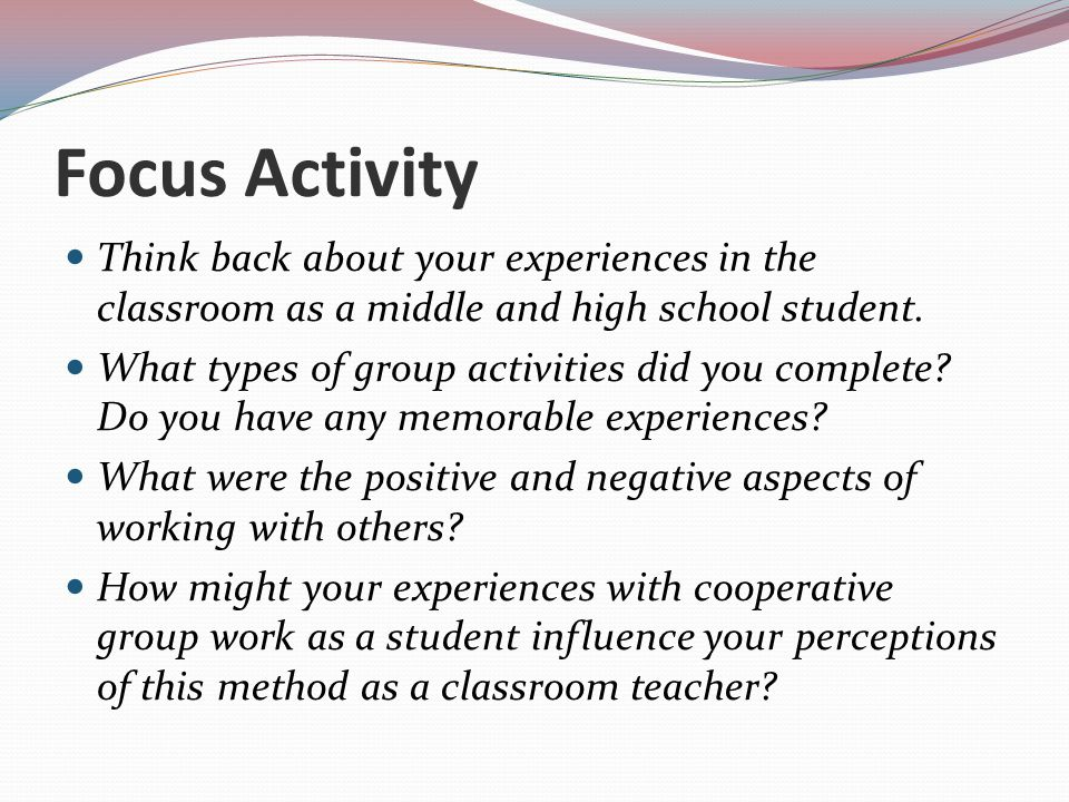 Collaborative Work In The Classroom : Cooperative learning in social studies ppt video online