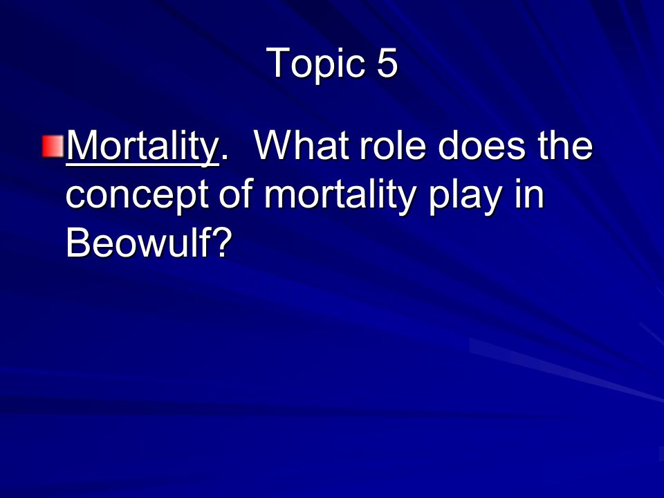 What role does religion play in beowulf essay