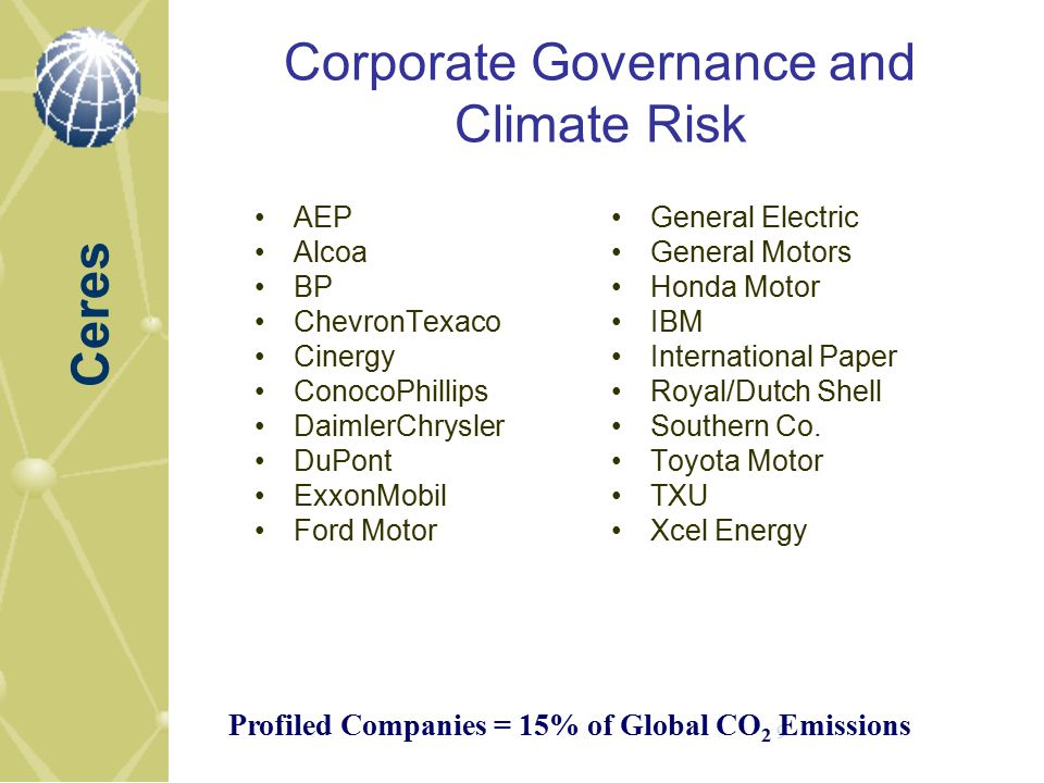 Climate risk mitigation strategies and policies ppt for Ford motor company risk assessment