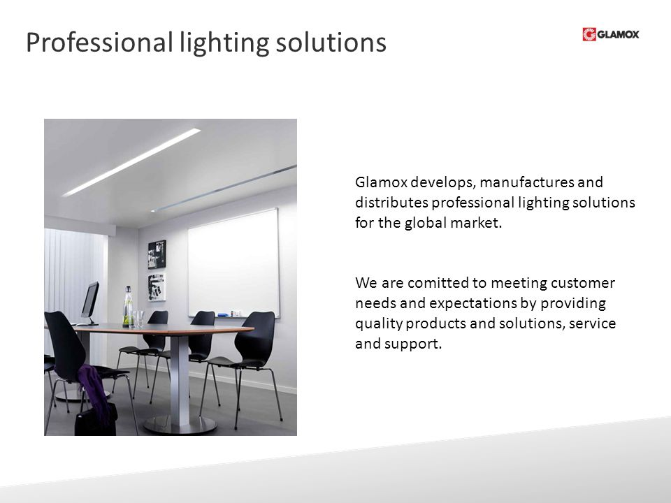 The Glamox Group Lighting solutions ppt video online download