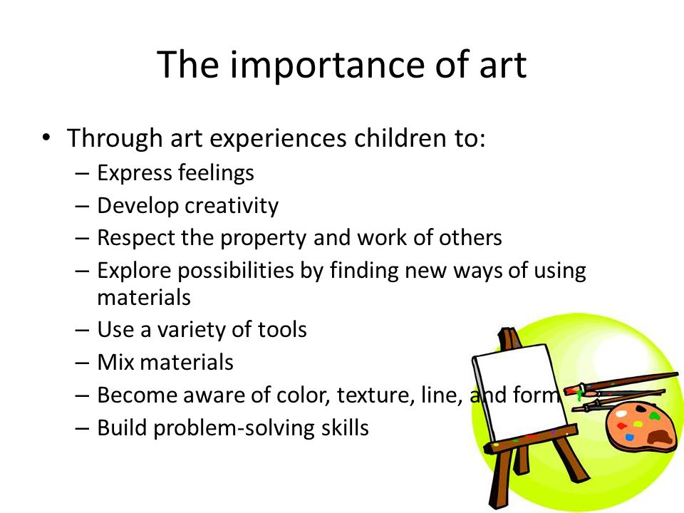 The importance of drawing