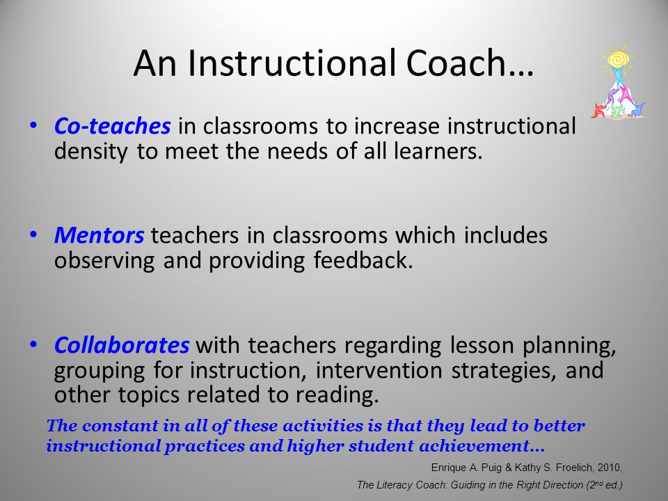 the role of an instructional coach