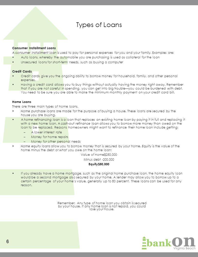 credit the basics participant s guide ppt download. Black Bedroom Furniture Sets. Home Design Ideas