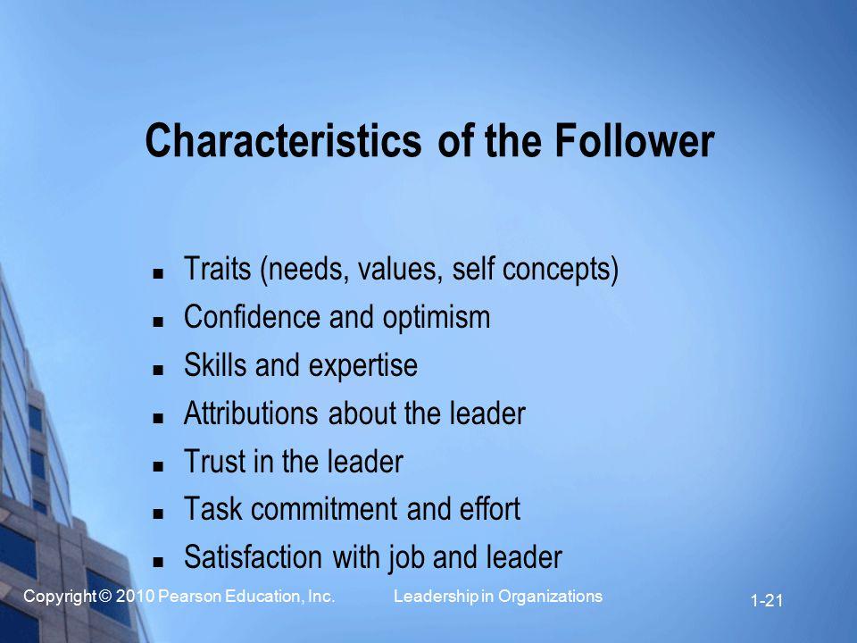 Characteristics of the Follower