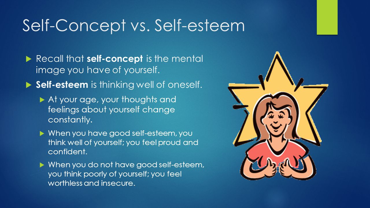 Self-Concept vs. Self-esteem