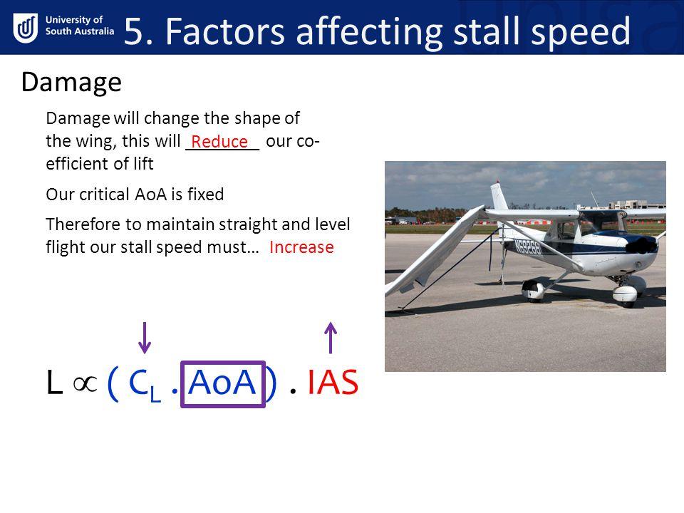 Factors affecting terminal velocity