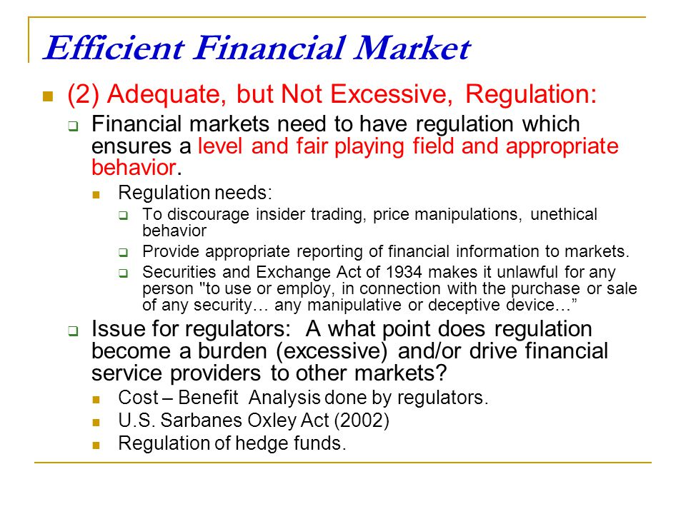 Unethical behavior in the financial markets essay