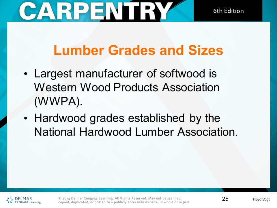 National Hardwood Lumber Association ~ Chapter lumber ppt download