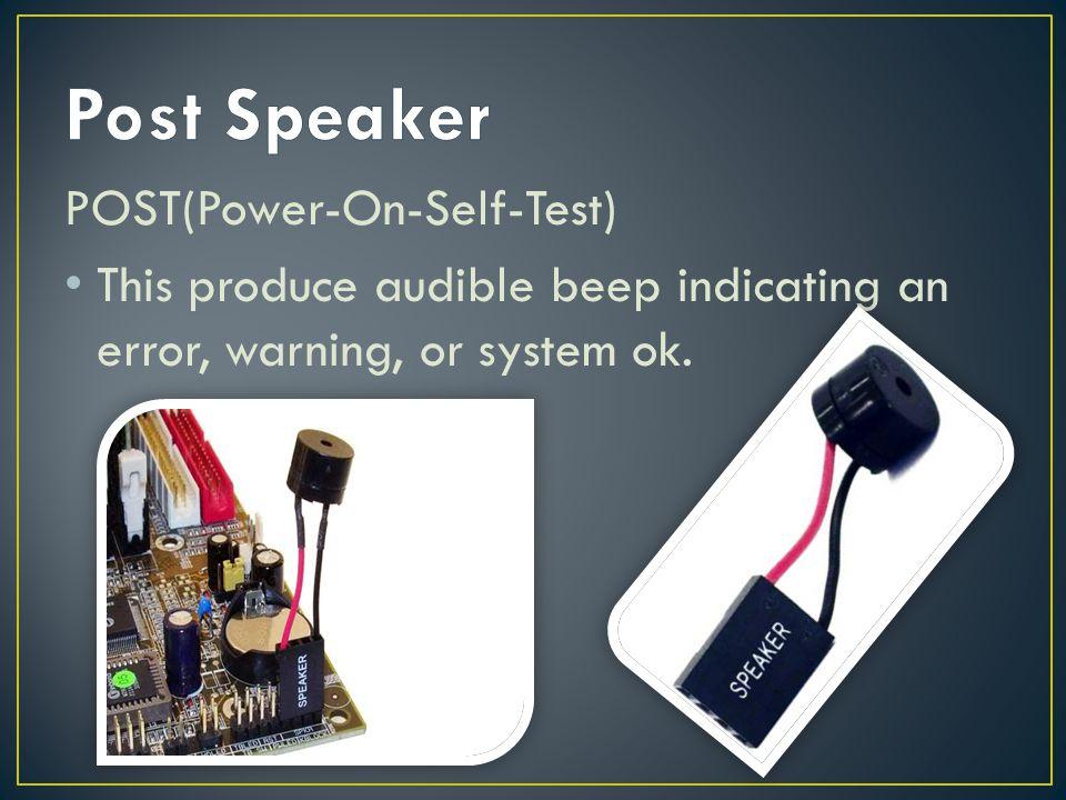 power on self test pdf