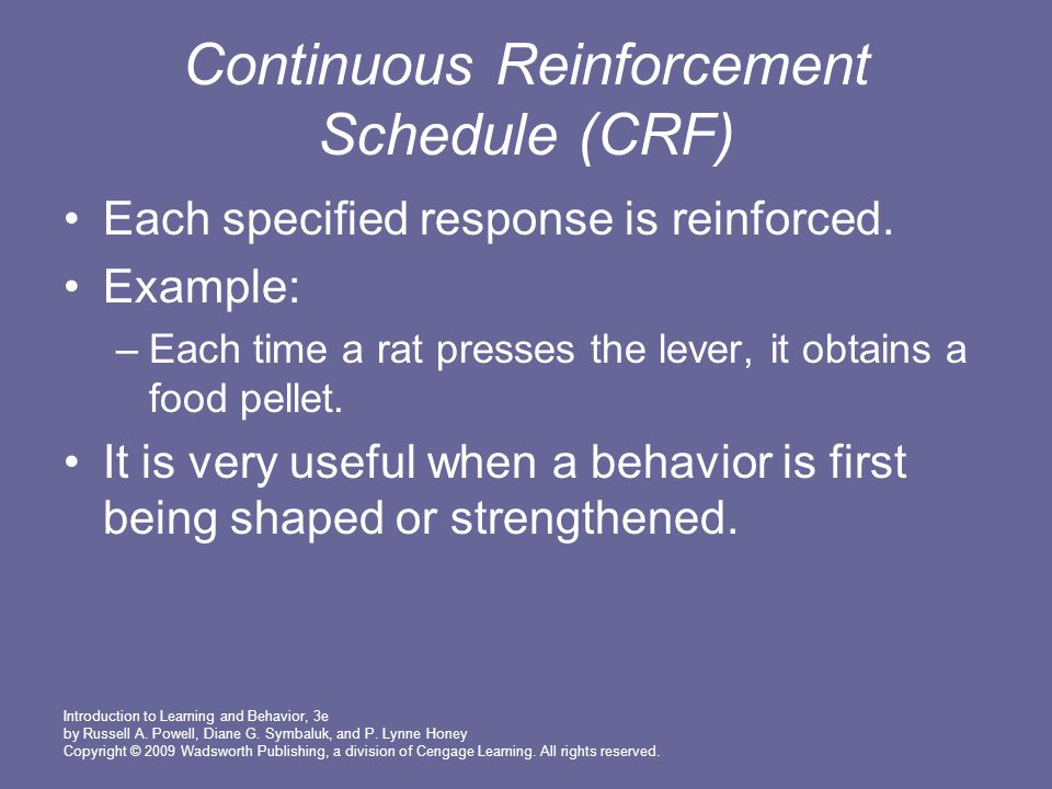 intermittent reinforcement dating Abusive power and control  dating engagement  of ongoing cycles of abuse in which the intermittent reinforcement of reward and punishment creates powerful.