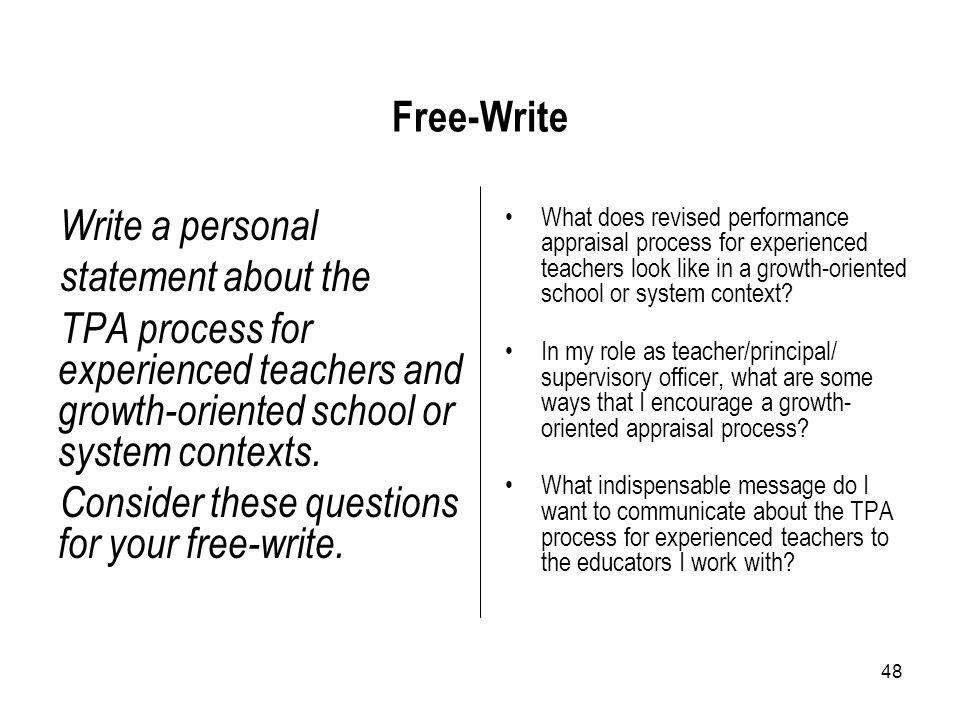 Consider these questions for your free-write.