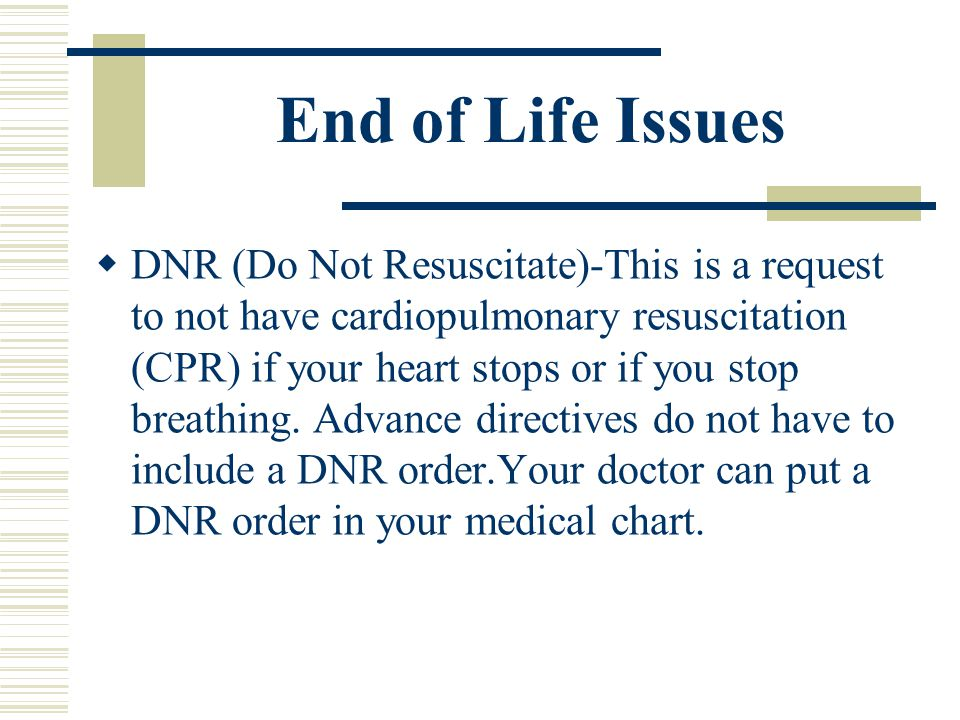 Do Not Resuscitate Form. Maine Living Will Form (Advance Directive