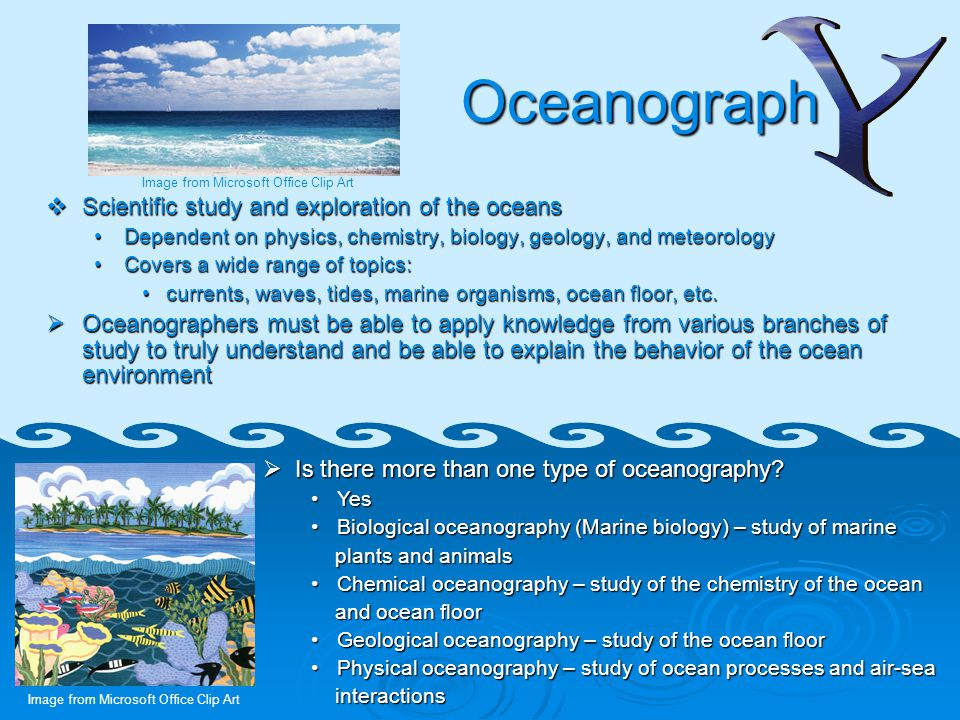 abc u2019s to oceanography