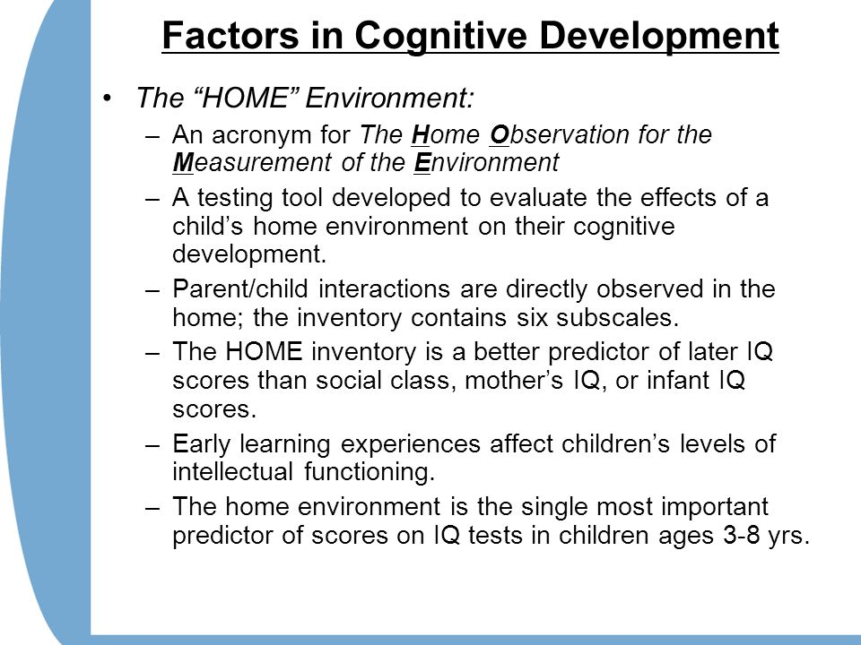 cognitive development in early childhood Some common features indicating a progression from more simple to more complex cognitive development include the following: early adolescence during early adolescence, the use of more complex thinking is focused on personal decision making in school and home environments, including the following.
