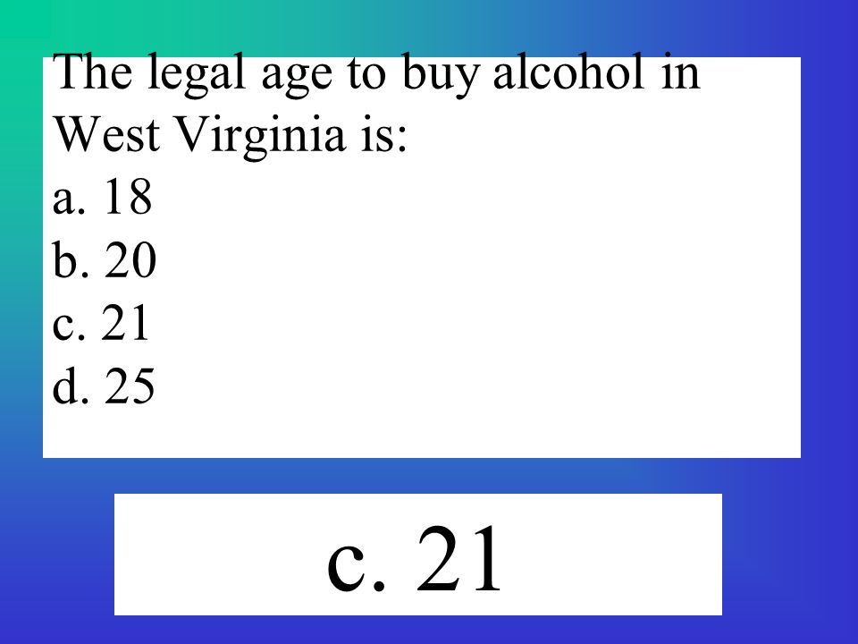 Legal dating age in west virginia