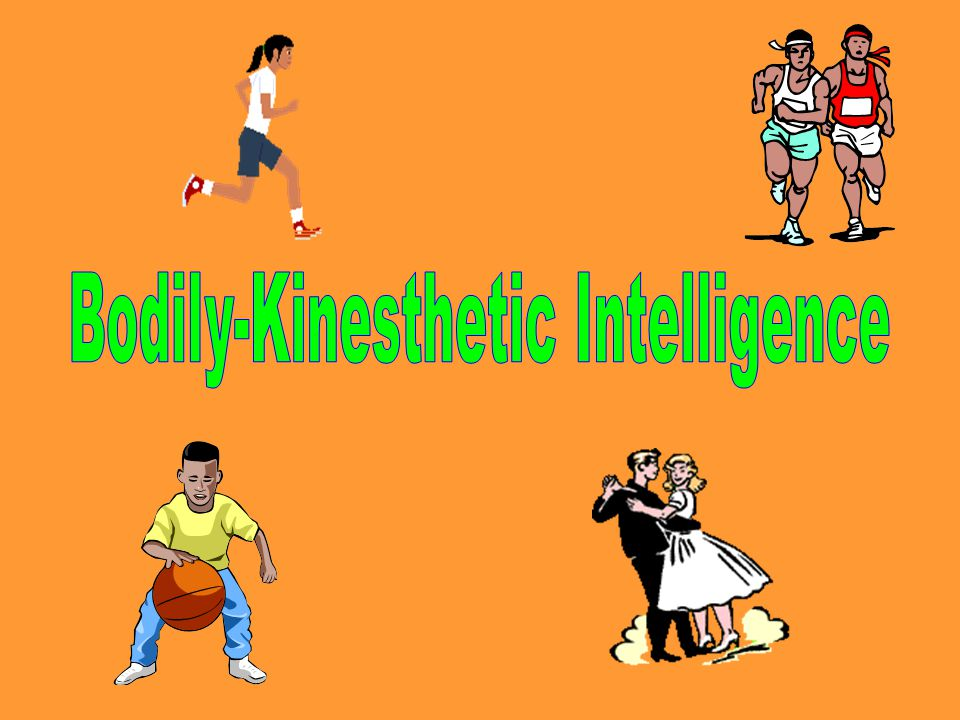 bodily kinesthetic intelligence essay The essay on intelligence centres as named by gardner  bodily-kinesthetic intelligence may be improved through sports and dance education,.