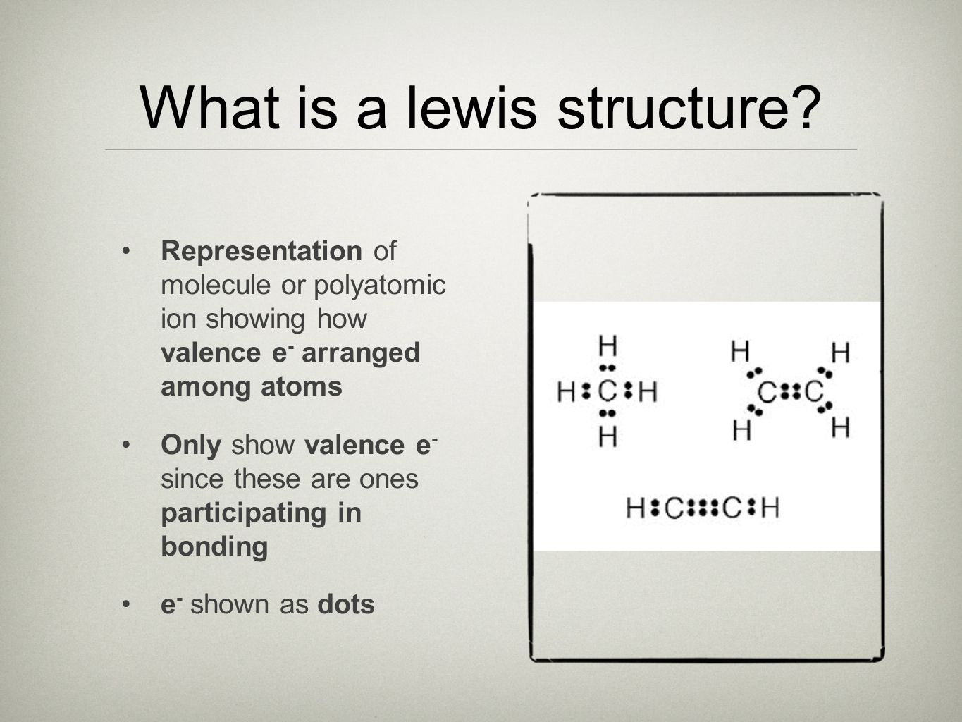 What is a lewis structure