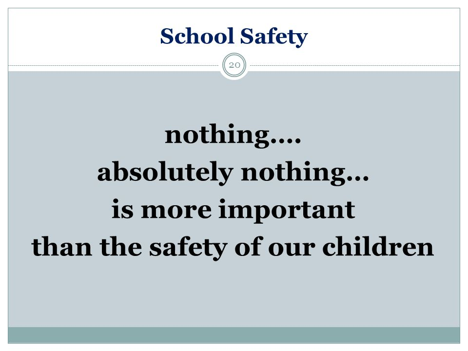 School Safety Staff Students Visitors Ppt Video