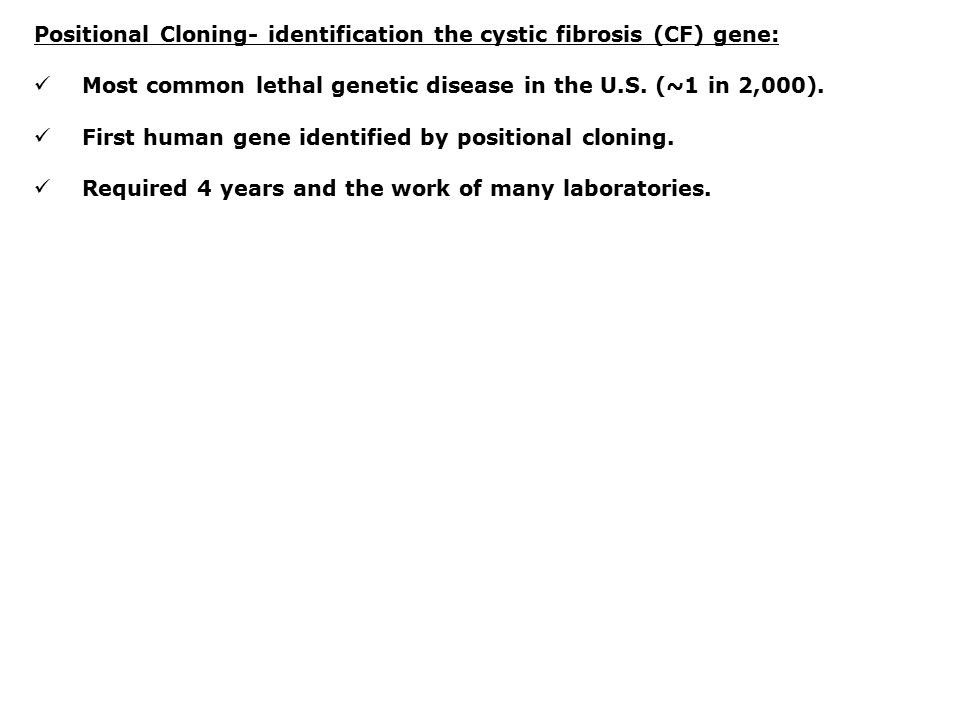 the gene identification of cystic fibrosis disease Illuminaz miseqdx cystic fibrosis system premarket notification 510(k) summary general information submitted by: illumina inc 5200 illumina way.