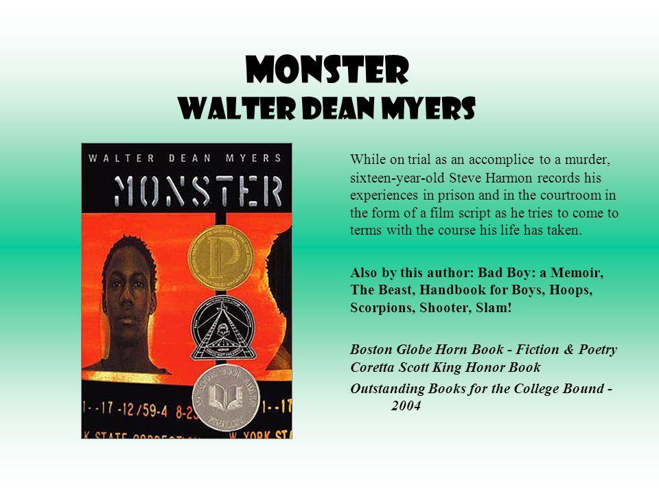 Monster  Walter Dean Myers  Google Books