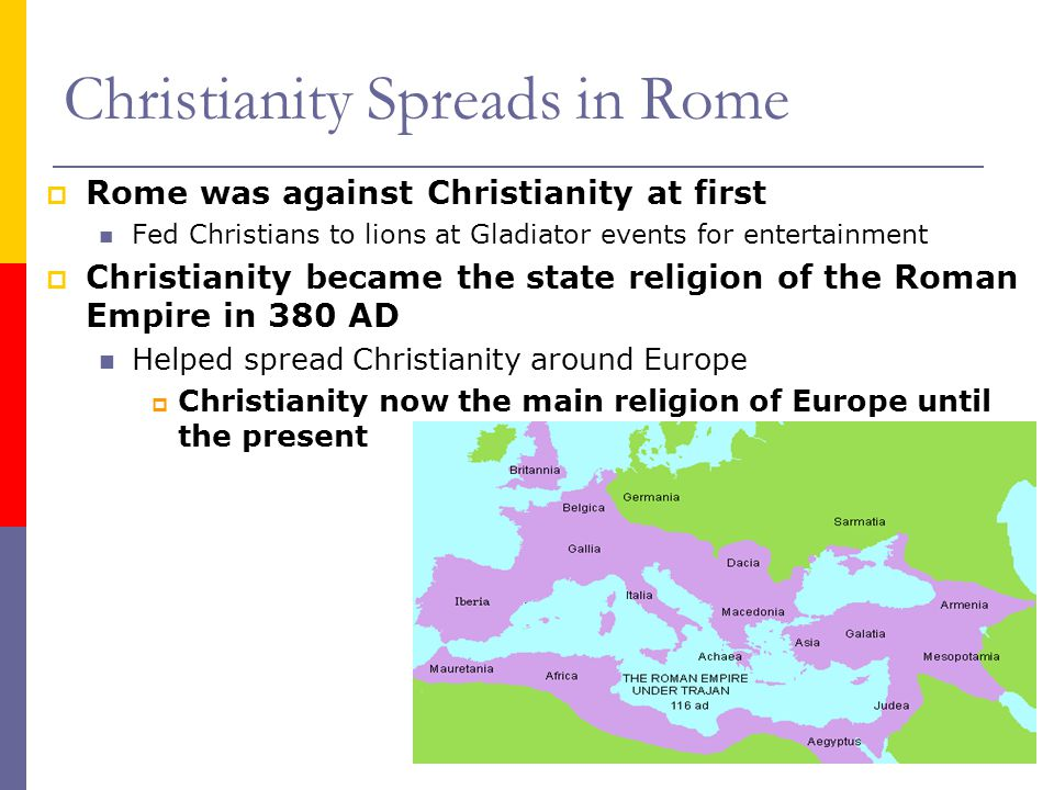 Christianity Spreads in Rome