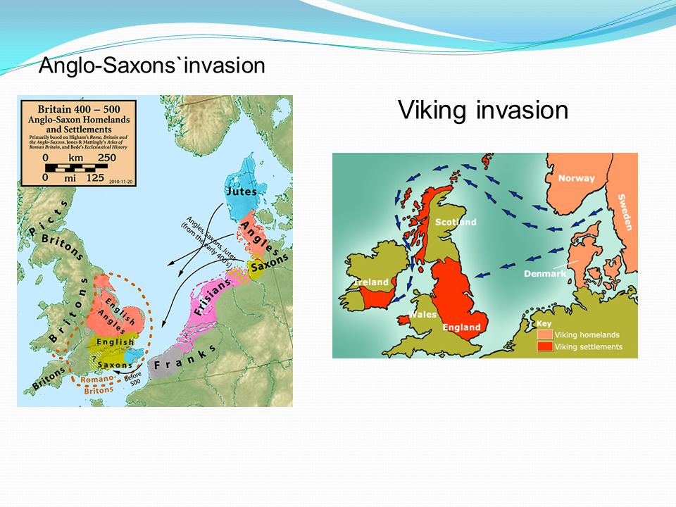 Anglo-Saxons`invasion